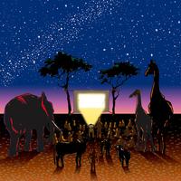 満天の星空が映画館。アフリカの子どもたちの未来へと続く、素敵な映画プロジェクト