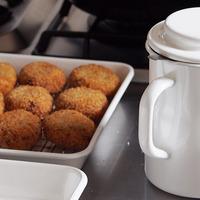 サクッとジューシー♪【揚げ物】がしたくなるお鍋とキッチン道具