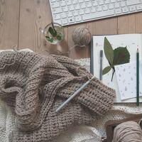 秋の夜長にもお勧め*「かぎ針編み」でつくる、素敵な小物たち