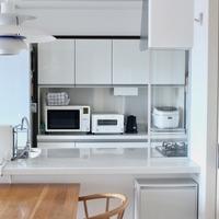 「キッチンカウンター」どう使う?素敵なキッチンインテリアをつくるヒント