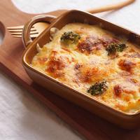 【グラタン皿と鍋敷き・ミトン】で作る、冬の温か至福の食卓