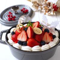 """今年は手作りしてみない?""""ズボラさん""""のクリスマスケーキアイデア集"""