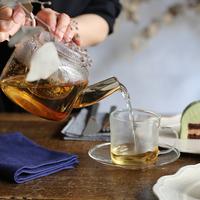 お気に入りの【ティーポット】で。ちょっと特別なお茶の時間