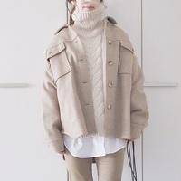 あったか「シャツジャケット」で冬コーデもバランス上手にスタイリング♪