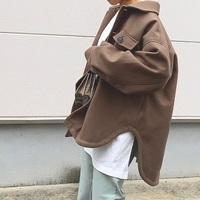 ゆるっと大きめを着こなそう。「CPOジャケット」の大人コーデ