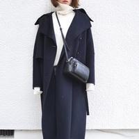 この冬のトレンド「ロングコート」のグッドバランスな着こなし術