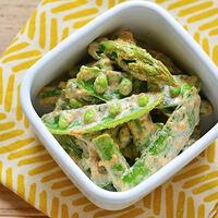 みずみずしい春野菜「スナップえんどう」のゆで方&人気レシピ