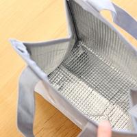 お弁当入れやお買い物のお供に。おしゃれな【保冷バッグ】が便利です