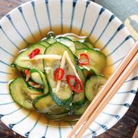 「きゅうり」がおいしい季節です。夏野菜の定番をたくさん食べられるレシピ