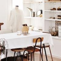 1枚で、お部屋空間がナチュラルに。「白いクロス」を取り入れた素敵な暮らし