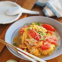 一緒に食べると栄養バランスUP!「トマト+卵」のおいしいレシピ集