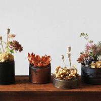 おうちを大人色に彩る。秋冬シックな「花と実もの」のすてきな飾り方