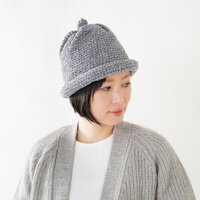 かわいさ倍増!ニット帽のおしゃれなかぶり方&ラフな髪型テク