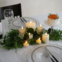 簡単なコツでおしゃれに♪クリスマスのテーブルコーディネート30選