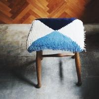 お気に入りの椅子がもっと素敵に!ふんわり心地いい【チェアパッド】