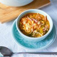 一杯で満たされる◎具材ごろごろ「食べるスープ」レシピ