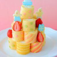 パーティーが盛り上がる「ロールケーキタワー」を手作りしよう!