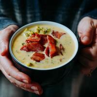 旬の美味しさをじっくり味わう。「秋野菜のポタージュスープ」レシピ帖