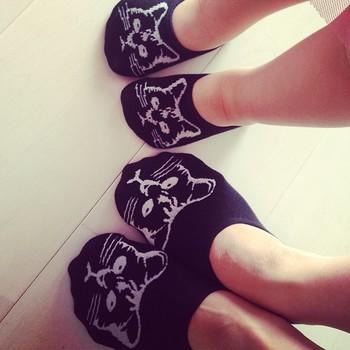 しまむらの靴下。  親子でペアルック可愛すぎませんか?