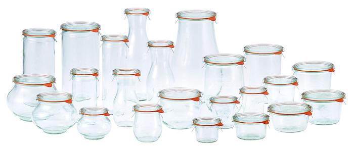 用途に合わせてさまざまな大きさの保存瓶を選ぶことができます。 シンプルで使いやすい、それでいて優れた密閉技術。 食品や生鮮品のおいしさを長くキープできます。