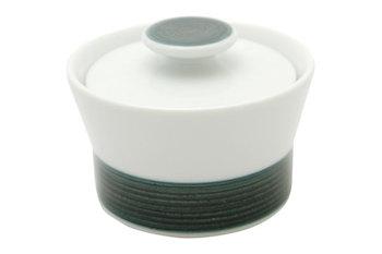 白山陶器の中でも人気の麻の糸シリーズです。 不揃いなラインと色の深みがポイントです。 小物入れにもいかがですか?