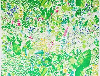自身を「田舎育ち」と評する石本さん。美しい自然をモチーフにしたその作品には、幼い頃からすぐそばにあった原風景のようなものが描かれているのかもしれません。