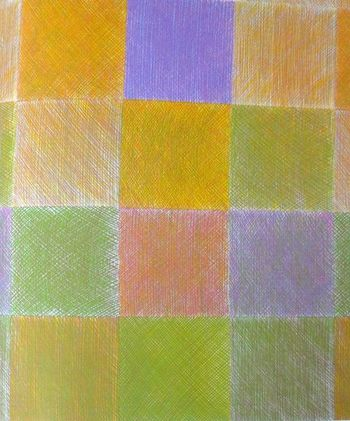 色によってまったく異なる雰囲気に。色鉛筆で描いたような自由で躍動感のある線が素敵な柄「Maisema」。今見てもまったく古さを感じません。ぜひ復刻してほしい布ですね。