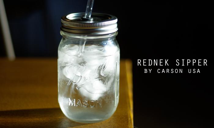 こちらがローラさんが使っていたボトル「REDNEK SIPPER( レッドネック シッパー)」です。
