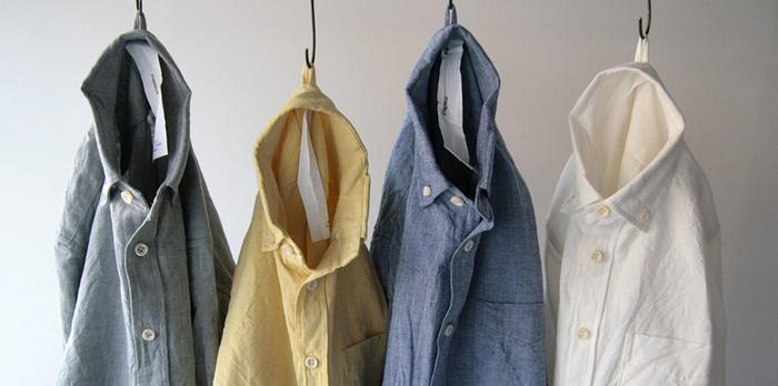 着た瞬間から体になじむシャツ。長くお付き合いしたいお気に入りのシャツになること間違いなしです。