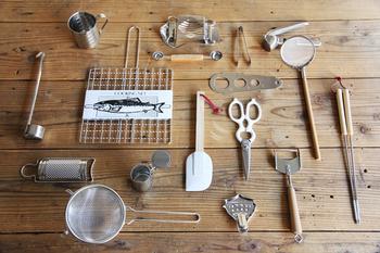 シンプルだから使いやすい。 無駄な装飾を取り去った、道具としてのツールは見た目にこんなにもすっきりするものなんですね。