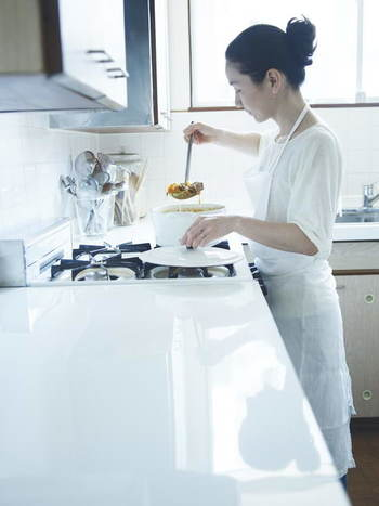 一緒に食べる人の事を思いながら‥  愛情がたっぷり詰まった渡辺さんの料理は絶品です!
