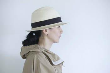 パナマ帽がとってもお似合いです!