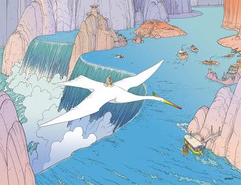 【メビウス】宮崎駿や松本大洋も影響を受けた仏アートコミック界の巨匠