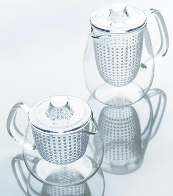 2008年には、グッドデザイン賞を受賞した「UNITEA」シリーズ。著名デザイナーの柴田文江さんがデザインしたものです。