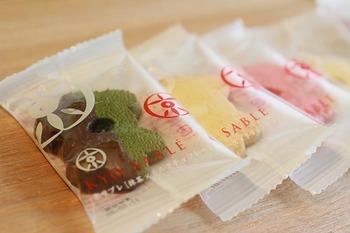 柚子チョコ、胡麻、抹茶、和三盆などの和の食材の他に、チーズやイチゴ味といった洋風の味わいも取り入れられています♪