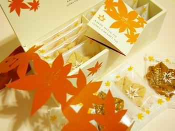 秋冬は紅葉パッケージになり、より可愛らしさが増します♡
