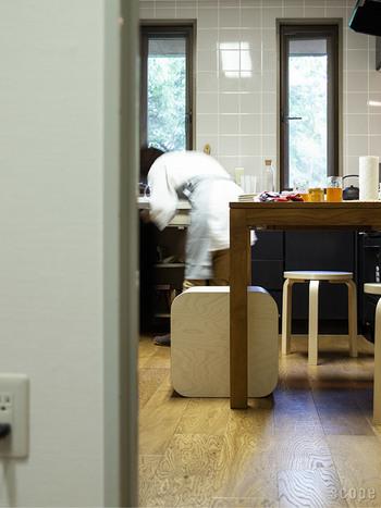 キッチンで床下収納の様な感覚で使うのもオススメです!