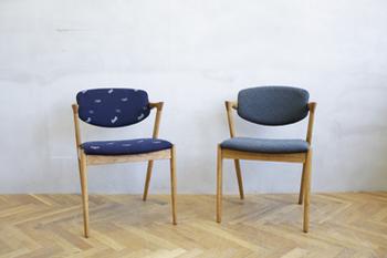 デンマークのデザイナーKai Kristiansen (カイ クリスチャンセン)の代表作と言われるNo.42アームチェア。
