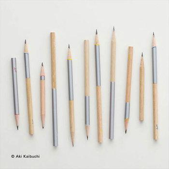 dipという名の鉛筆は、ひっくり返してもdipに見えるちょっとした遊び心から。どちらからでも削れる鉛筆。細かな色使いも素敵ですね♪