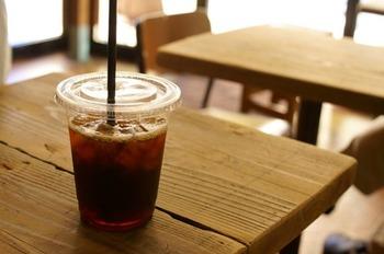 こだわりアイスコーヒーのエチオピア。 紅茶のようなすっきりクリアな味でフルーティーな酸味が美味しい!