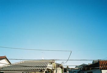 空の撮影にもオススメ。 微妙な色合いの変化を映し出します。
