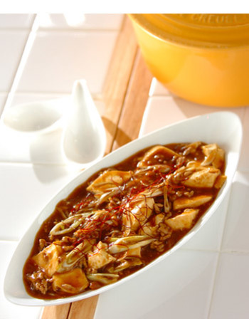 中華にする方法もあるとは、驚きです!! 豆腐とカレー...チャレンジしてみたいですね。