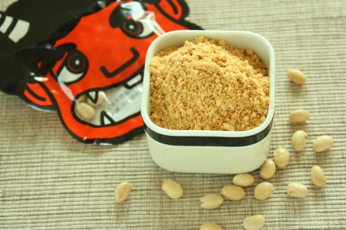 香りたつ自家製きな粉♪すり鉢やミルサーを使えば、風味が良く芳ばしいきな粉がつくれます。