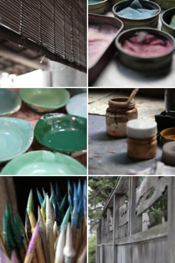 現在では、昔ながらの製法で「文庫革」の名前で製作しているのは、文庫屋「大関」さんだけになりました。 後継者の大関春子さんを中心に30人の職人さんたちがこの希少な伝統工芸の手法を大切に継承し、東京の墨田区向島の工房で一つ一つ手作りで作品を作り続けています。
