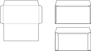 """""""カマス""""は大昔からある日本語で「叺」と書きます。封筒にかぎらず、底で二つ折りにし両脇を綴じた袋のことです。"""