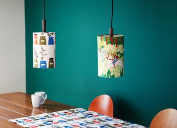 こちらはペンダントライト! まるで素敵なカフェのような雰囲気が生まれます。 ライトの大きさも3種類からセレクトできるから、インテリアに合わせて、ぜひ素敵なライトを作ってみてください。