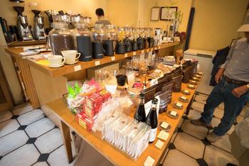 コーヒーの種類も豊富で楽しめます。