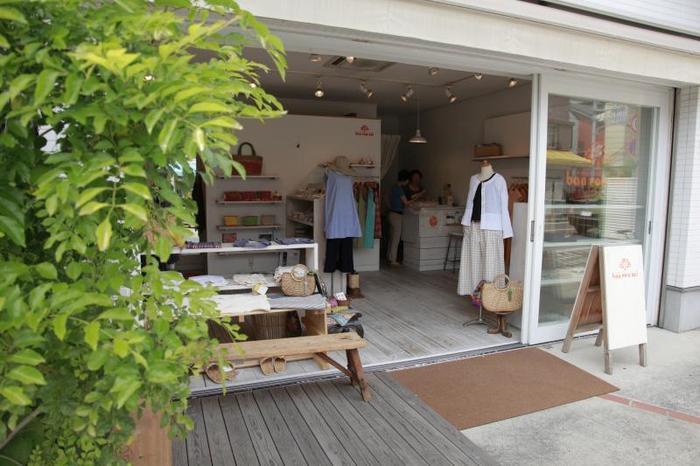 実店舗は鎌倉にあります。ぜひ、鎌倉を訪れた際は、実物を手にとってご覧になってみてくださいね。
