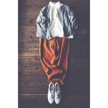心地よい素材の洋服は、ずっと寄り添いたくなります。