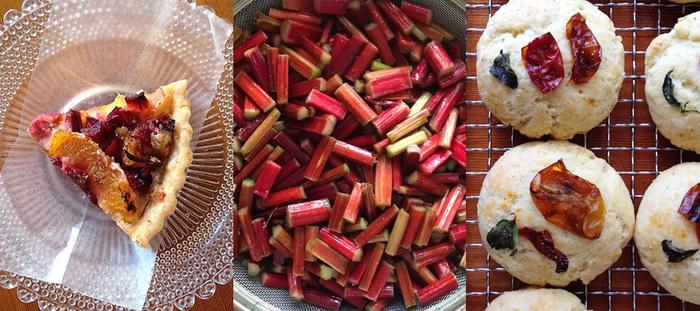 お店で食べられるお菓子は全てテイクアウト可。焼き菓子はもちろん、日によってロールケーキなどの生ケーキもあります。